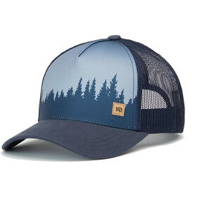 tentree Altitude Gorra, dark ocean blue juniper